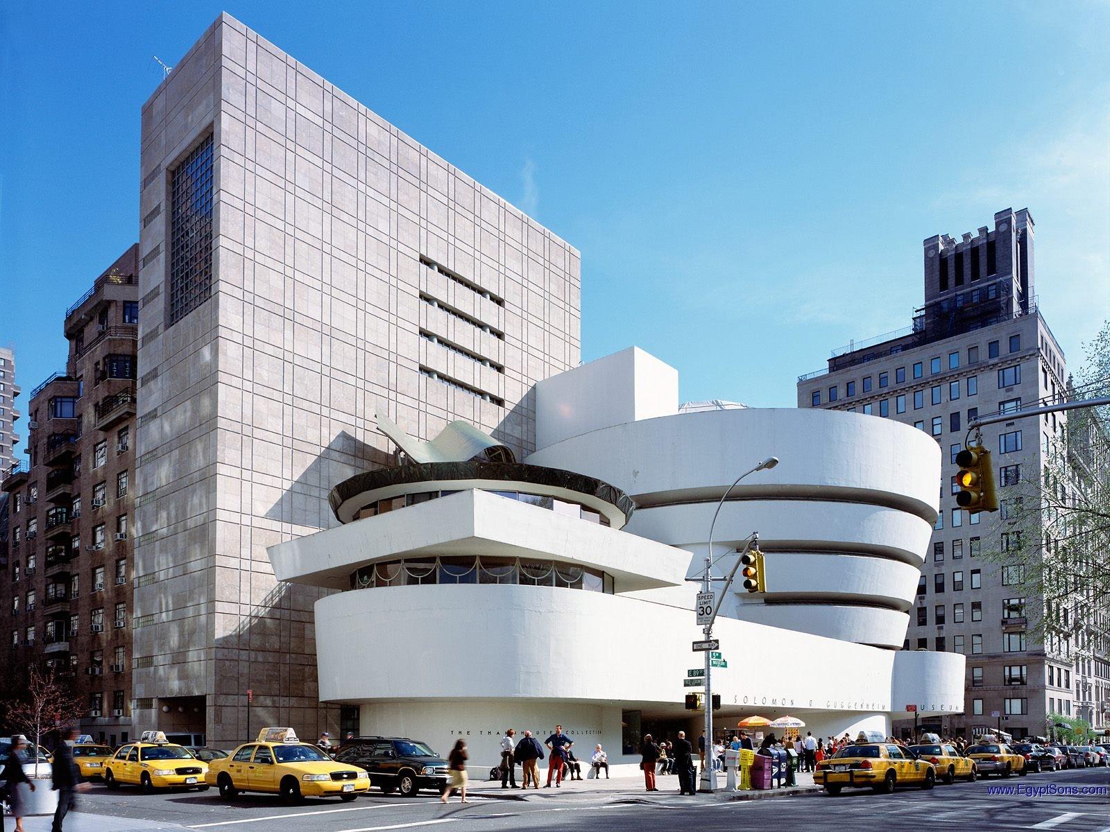 El museo Guggenheim, su edificio es una obra de arte. Foto: macaulay.cuny.edu