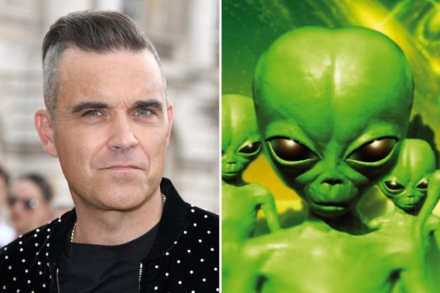Foto: Robbie Williams. /los40.cl