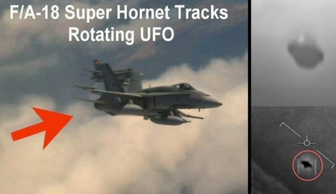 Foto: Uno de los tipos de aviones de la Marina de EEUU que tuvo contacto visual con un OVNI. /doyouremember.com