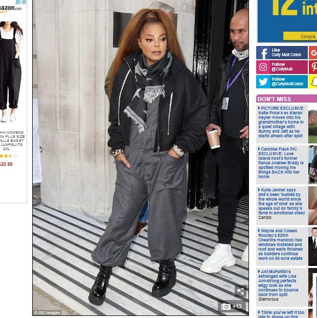 Janet Jackson A Sus 54 Años Da Contundente Respuesta Cuando Le