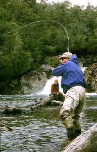 Los nudos para la pesca con mosca