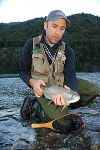 Río Baker, un destino destacado para la pesca con mosca en la Patagonia de Aysén