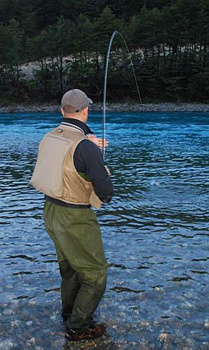 El tippet, parte del líder en el equipo de pesca con mosca