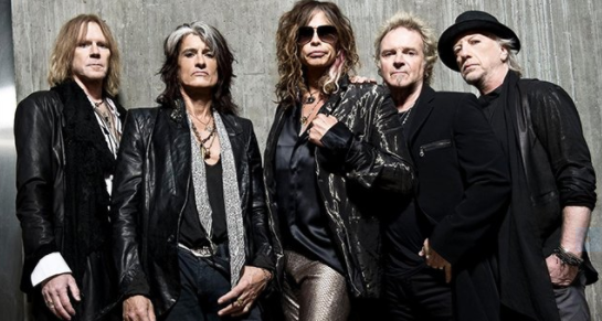 Aerosmith no estará en la cita rockera en el Estadio Monumental. Foto: Captura Twitter Cooperativa.