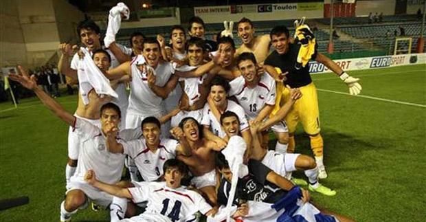 Resultado de imagen para La Selección Chilena en el torneo esperanzas de Toulon, Francia