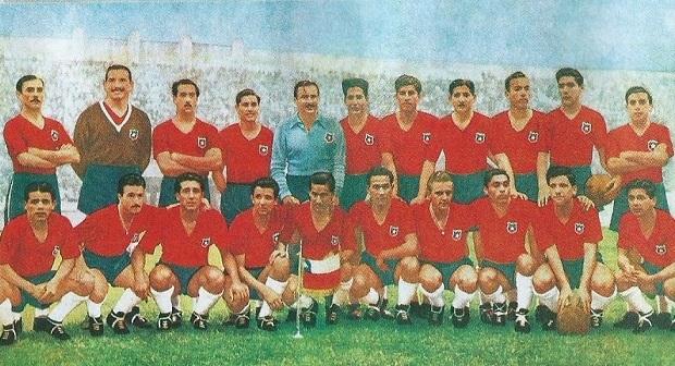Resultado de imagen para seleccion chilena en el mundial de brasil 1950