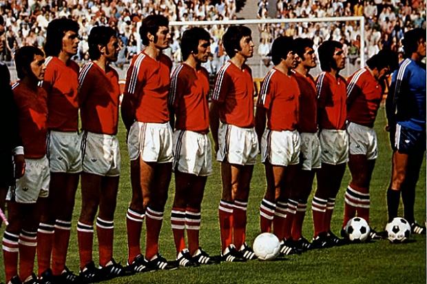Resultado de imagen para 1974 La Selección Chilena