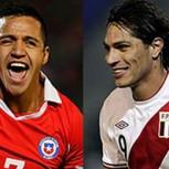 """Perú vs Chile: 10 datos de la nueva versión del """"Clásico del Pacífico"""""""