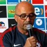Sampaoli dio insólita conferencia de prensa: Habló… y no dijo nada