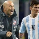 Sampaoli elogia a Argentina en la previa del partido con Chile y critica al camarín nacional