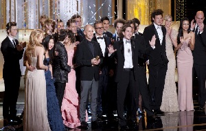 Golden Globe - Glee