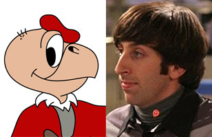 Harry Wolowitz y Condorito