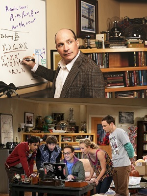 David Saltzberg es el físico detrás de The Big Bang Theory.