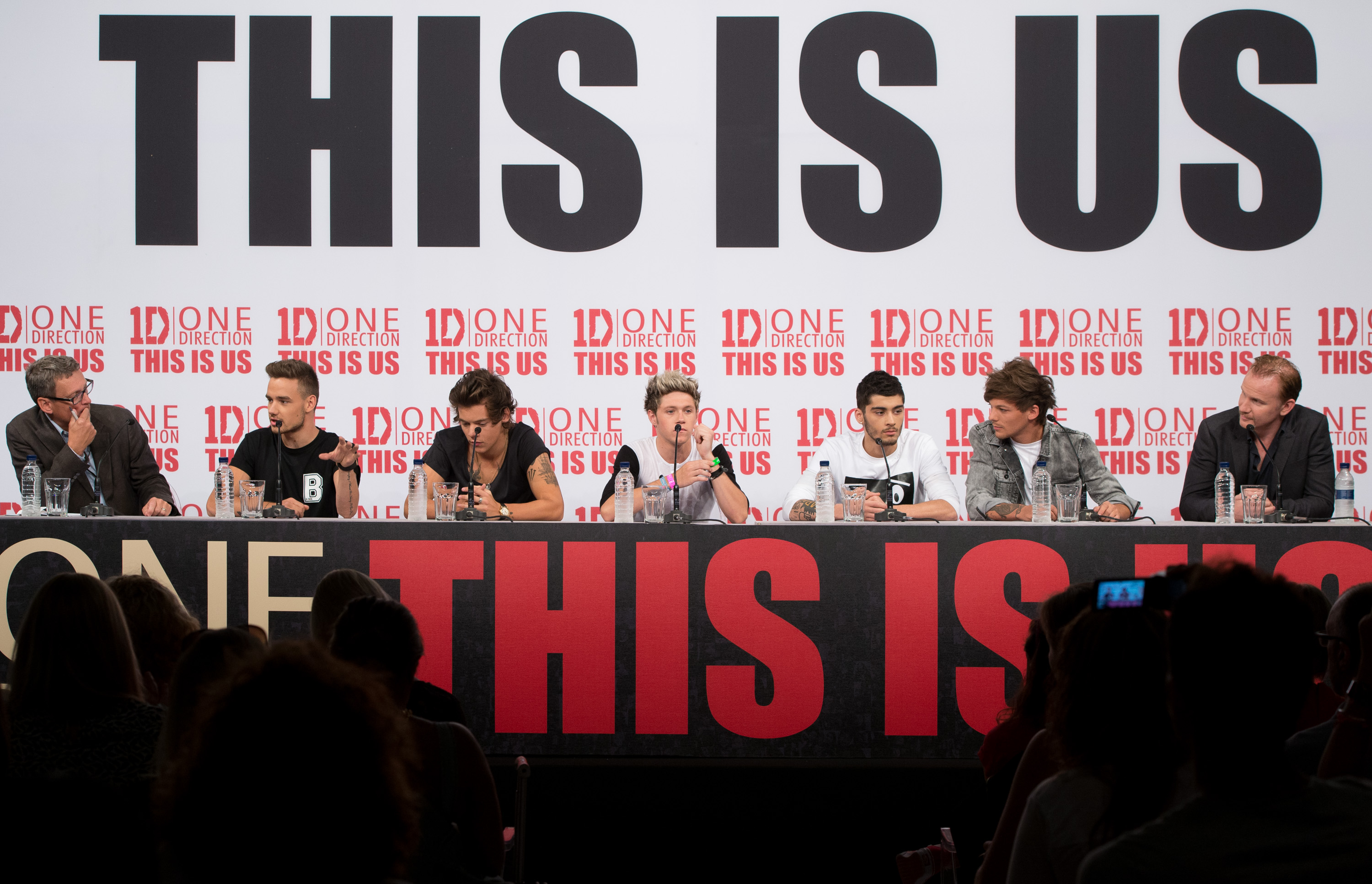 'One Direction - This Is Us' Photo Call And Press Conference