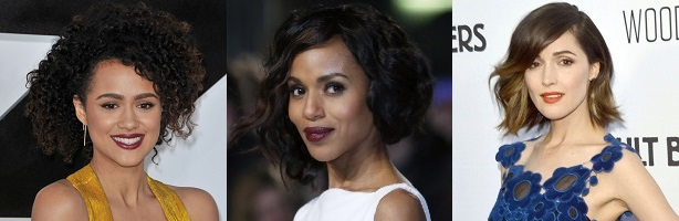 Nathalie Emmanuel - Kerry Washington - Rose Byrne