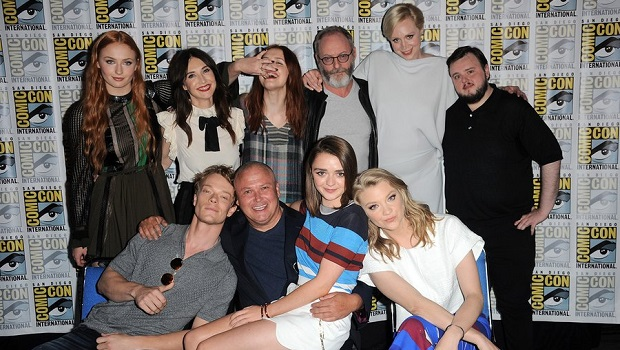 El elenco de Game of Thrones en SDCC 2015.
