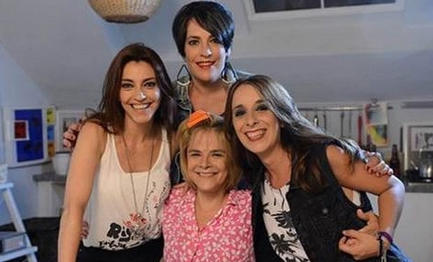 Nancy Anka, Julieta Fazzari, Gabriela Allegue y María Leal.