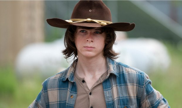 The Walking Dead Carl Mamá