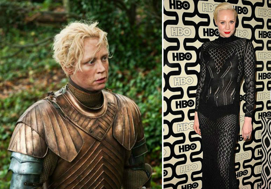 Gwendoline Christie de Game of Thrones.