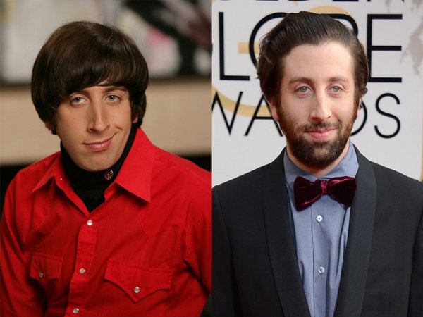 Simon Helberg de Big Bang.