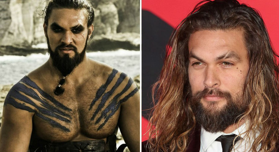 Jason Momoa de Game of Thrones.