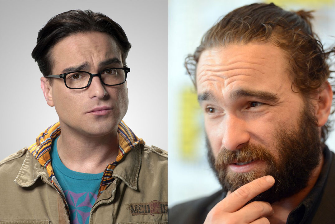 Johnny Galecki de Big Bang Theory.