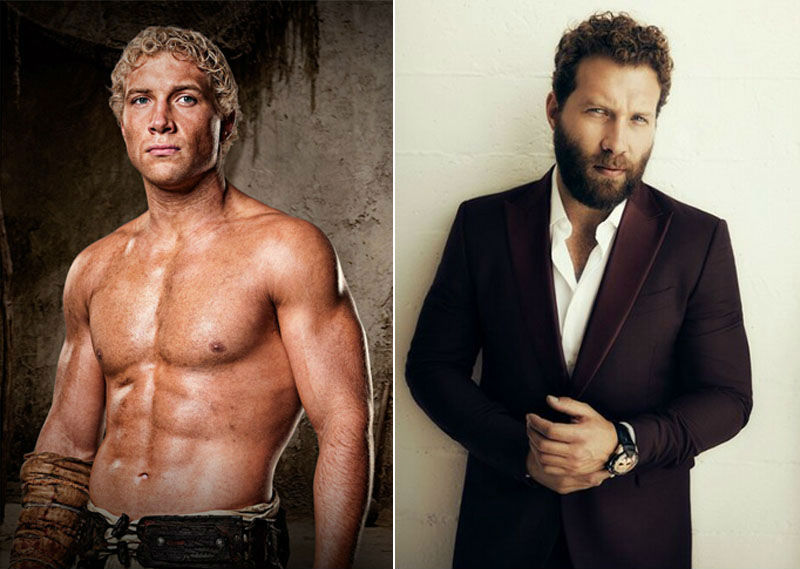 Jai Courtney de Spartacus.