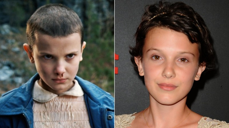 Millie Bobby Brown de Stranger Things.