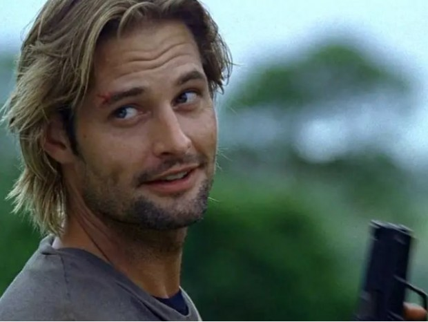 "Josh Holloway, en una escena de ""Lost"" / www.businessinsider.com"
