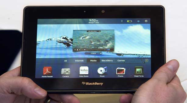 Playbook Blackberry