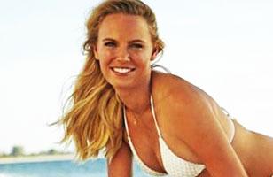 Caroline Wozniacki luce provocadores bikinis para Sports Illustrated: Fotos de la sesión