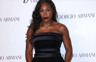 "Serena Williams, casi desnuda con su tenida en la ""Fashion Week"" de Milán"