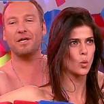Tonka Tomicic y Martín Cárcamo desnudos en TV: Revuelo en redes sociales