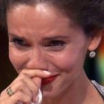 Leonor Varela lloró en televisión por la grave enfermedad de su hijo