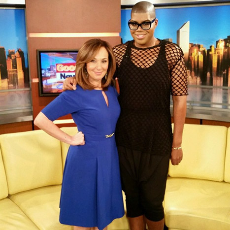 EJ Johnson y Wendy Williams.