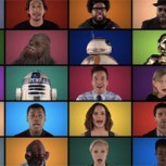 Imperdible: Elenco de Star Wars canta junto a Jimmy Fallon el tema central de la película