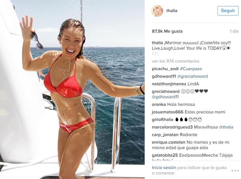 Edith González: le detectaron tejidos cancerosos a la actriz | Coldplay presentó su nuevo tema grabado en México | Blog de Tv - Página 7 THAL%C3%8DA