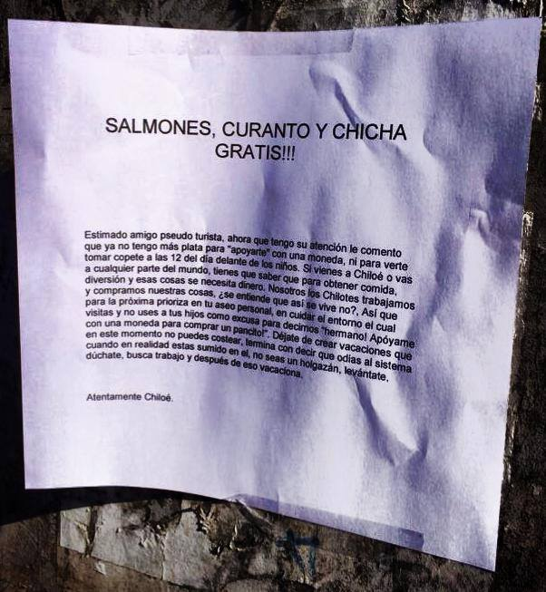 Carta Chiloé