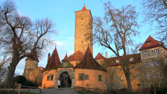 Castillo Rothenburg ob der Tauber