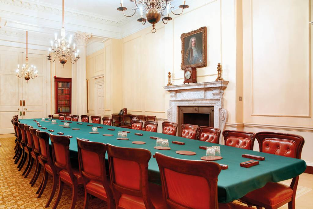 Big Desicions-Cabinet Room at 10 Downing Street