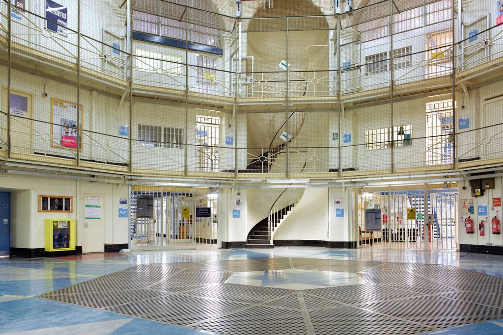 High security HMP Wandsworth Prison-Picture Peter Dazeley