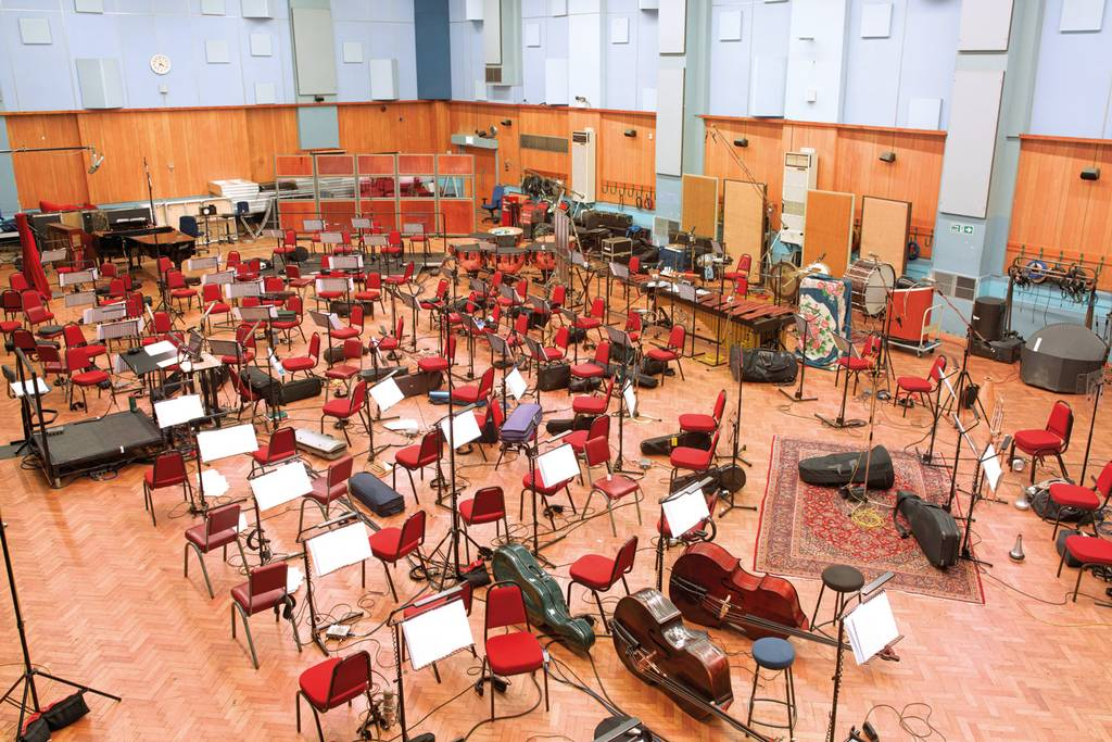 Misic Room-Abbey Road Studio One