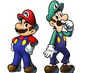 Mario Luigi gay