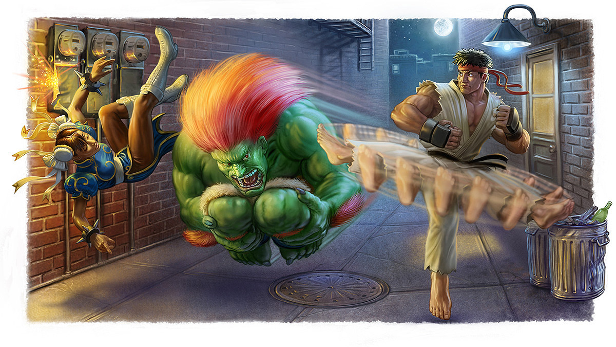 Street Fighter II Portada