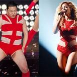 Psy imita a Beyoncé: Insólita presentación del creador del Gangnam Style