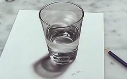 Impresionante truco: ¿Realmente es un vaso con agua?
