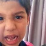 """Niño de 6 años reta a Arturo Vidal por choque y ya es viral: """"Torpe y borracho, Dios te salvó la vida"""""""