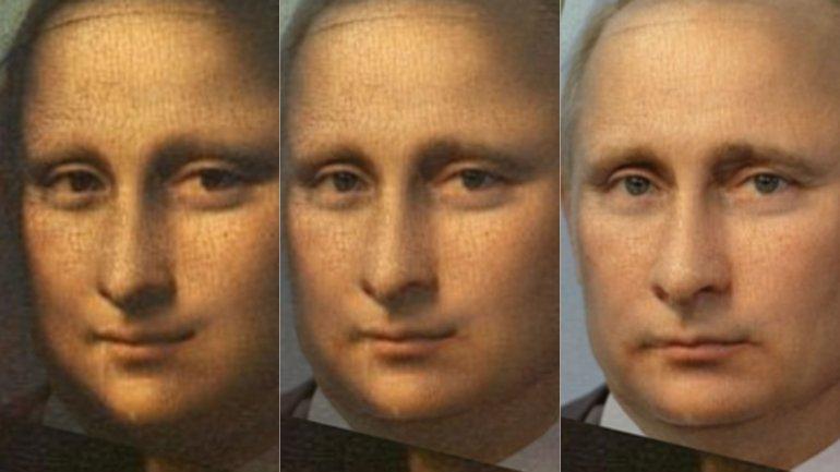 Мона лиза Путин фото